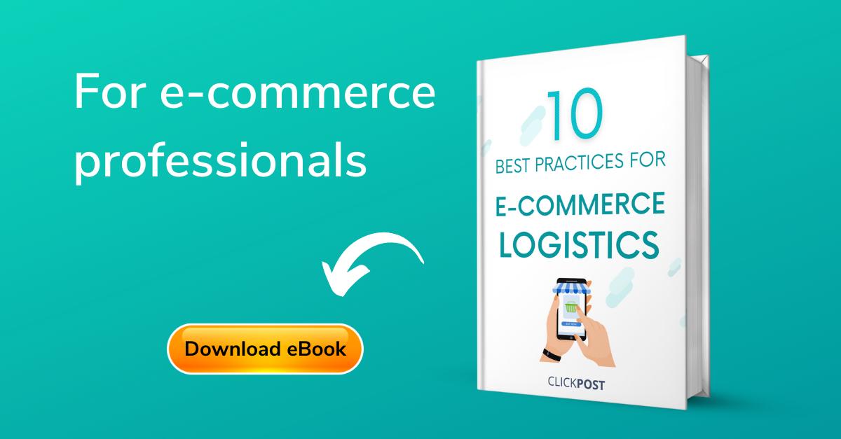 10 best practices for e-commerce Logistics india