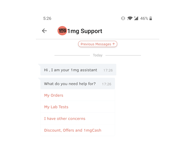 1mg live support for ecommerce customer service