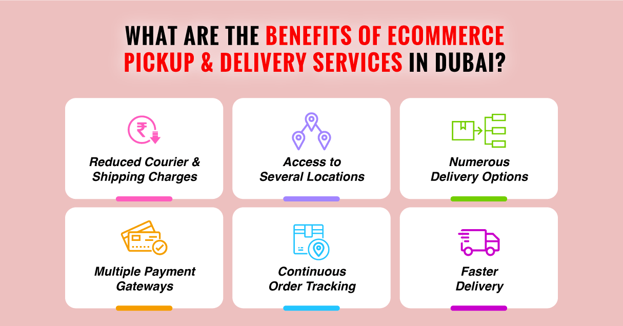 eCommerce Pickup and Courier Delivery Services in Dubai
