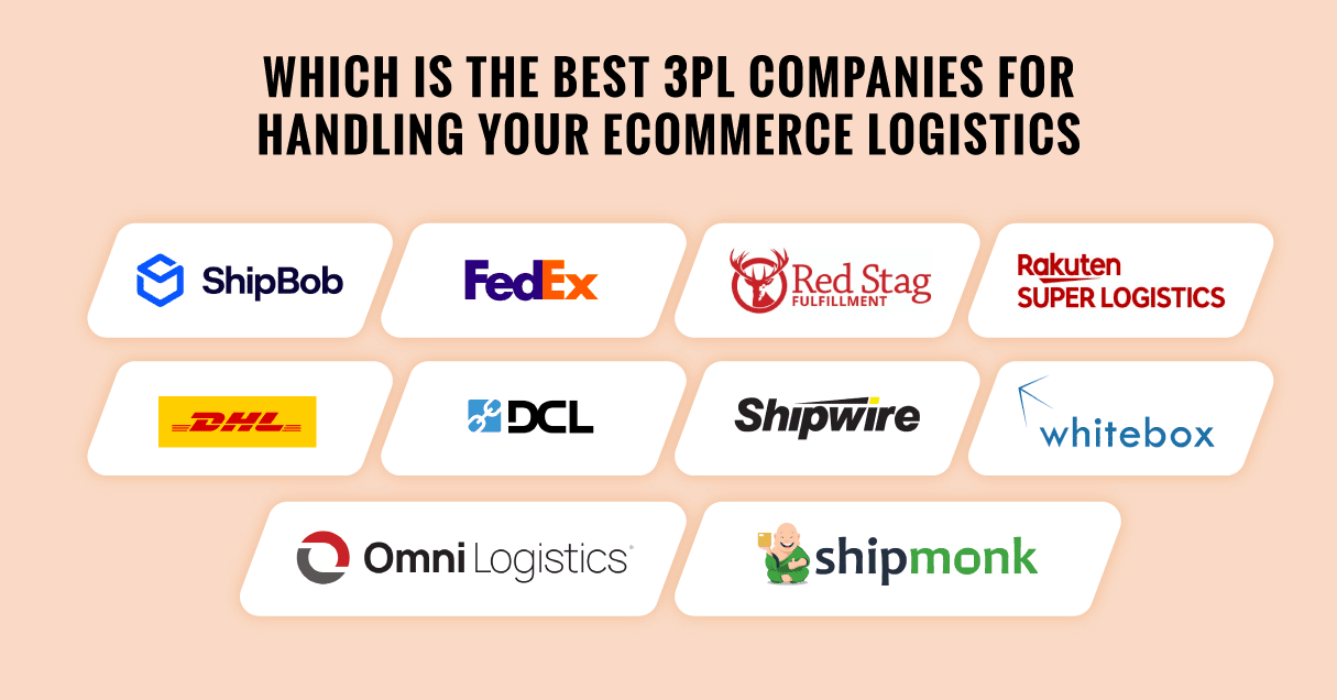 Best 10 3PL Companies for Handling Your eCommerce Logistics