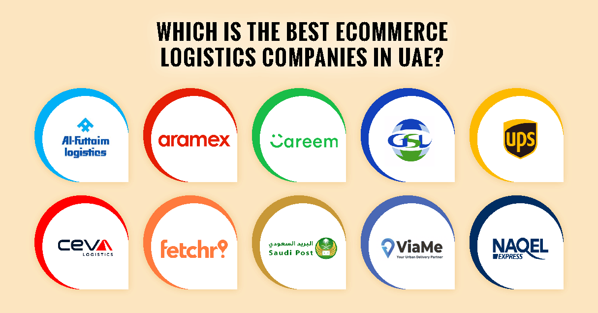 Best 10 eCommerce Logistics Companies in UAE (United Arab Emirates)