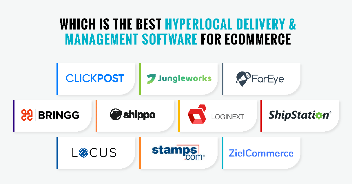 Best 10 Hyperlocal Delivery & Management Software for eCommerce