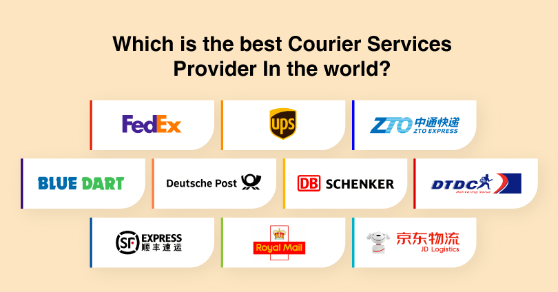 Best 10 Courier Services Provider Companies In The World