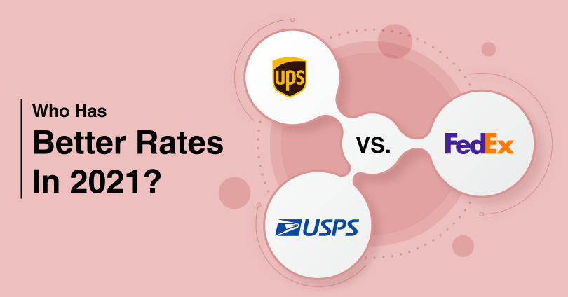 USPS Vs. UPS Vs. FedEx: Who Has Better Rates In 2021