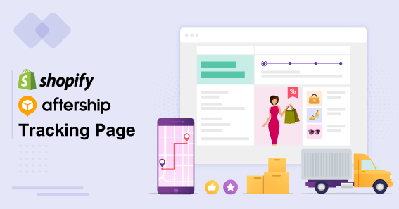 Shopify Aftership Tracking Page for eCommerce Companies