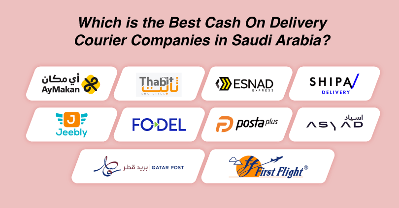 Top 10 Cash On Delivery Courier Service Provider Companies in Saudi Arabia [Cheapest and Fastest]