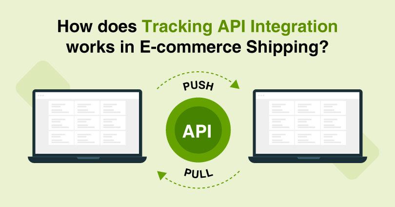 How Does Tracking API Integration Work in Ecommerce Shipping