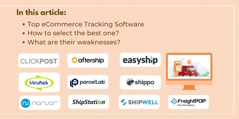 Top 10 Courier Tracking Software for eCommerce Companies
