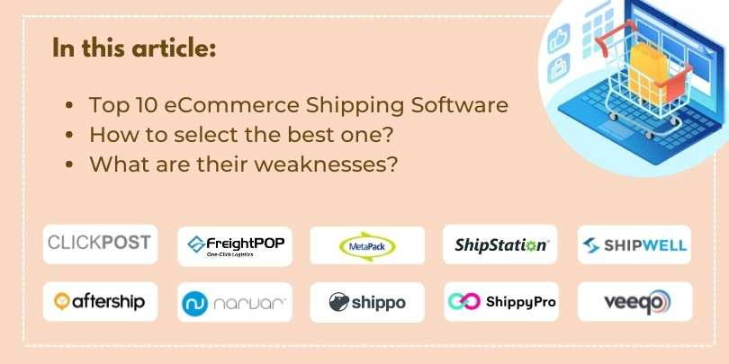 Top 10 Shipping Software for eCommerce Businesses