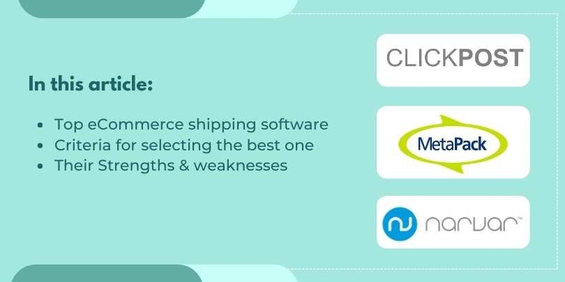 Top 5 eCommerce Logistics Intelligence Platforms with their Uses