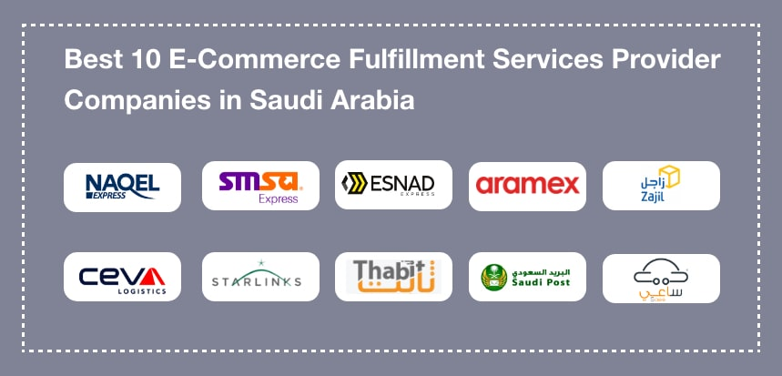 Top 10 ECommerce Fulfillment Service Companies Saudi Arabia